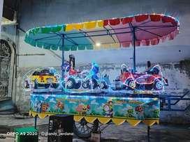 odong odong 2 full lampu hias kereta panggung NP