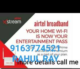 AIRTEL BROADBAND CONNECTION PROVIDE FOR EXCLEENT OFEER FREE