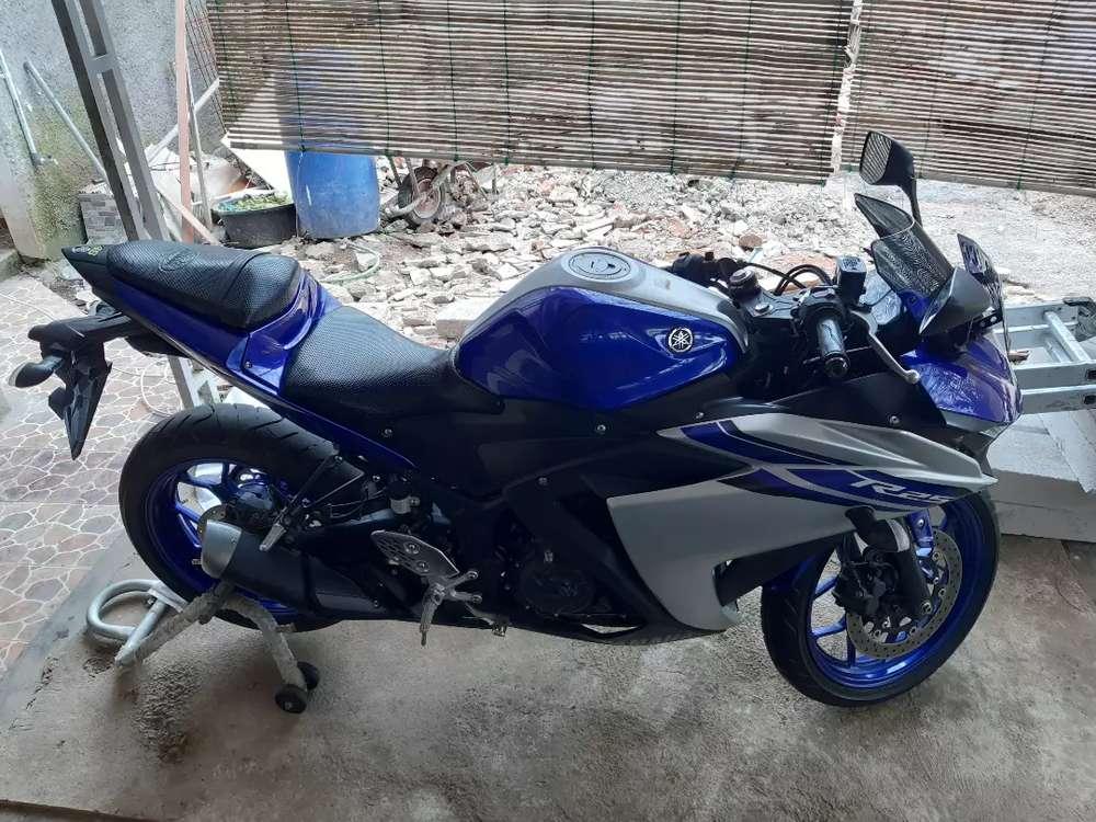 Yamaha r25 km rendah
