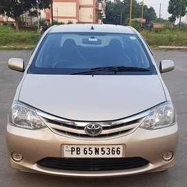 Toyota Etios 1.5 G, 2011, Petrol