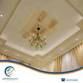 Jasa pemasangan plafond gypsum dan plafond pvc