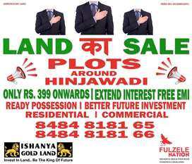 Fully developed residential plots all ove hinjewadi 700000 rs onwards