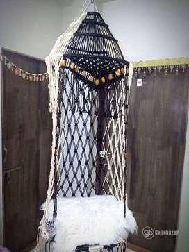 Cotton Rope Hanging Swing/Jhula