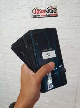 Samsung A20s ram 4/64 fullset bergaransi bisa TT juga
