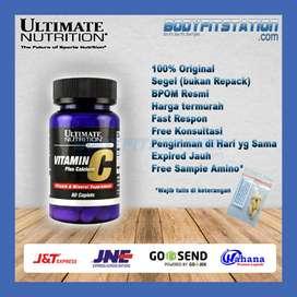 Ultimate Vitamin C Plus Calcium 60 Caplets / 60cap cap caps capsule un