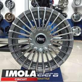 Pelek mobil expander ring 16 HSR wheel r16 pcd 5x100 & 5x114,3 Gresik