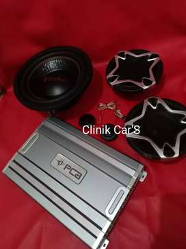 Audio mobil subwoofer fonalivo, power pca& split cubig wolf**
