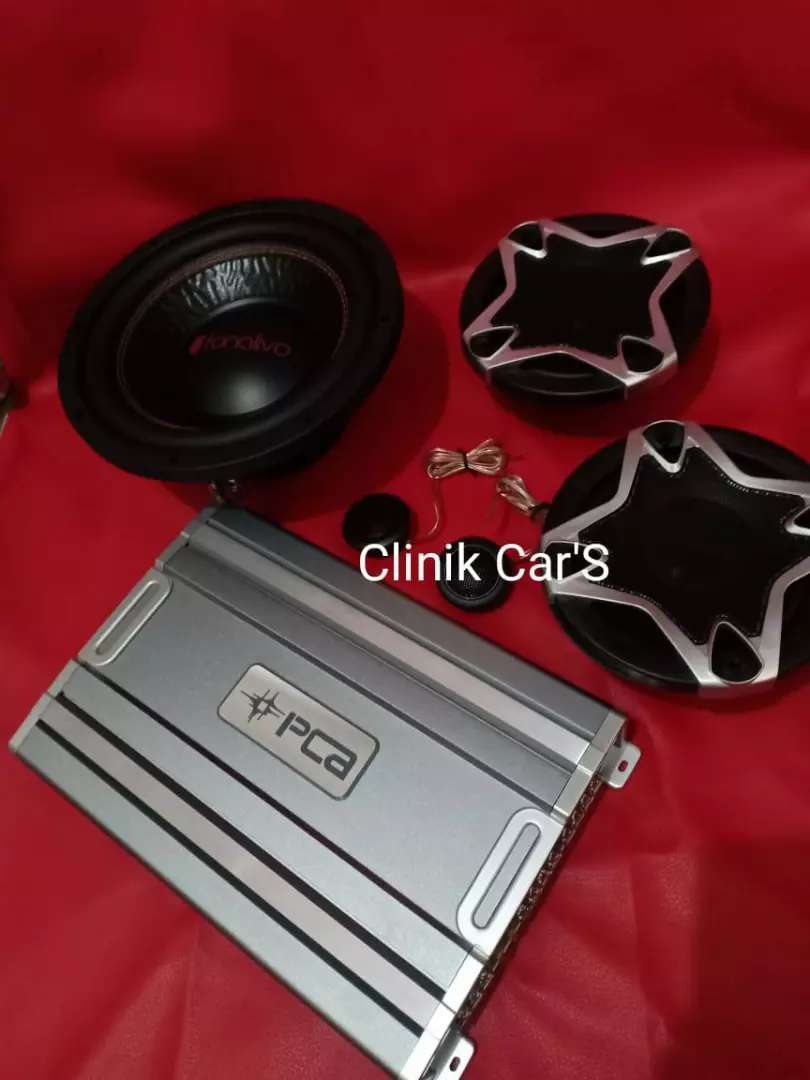 Audio mobil subwoofer fonalivo, power pca& split cubig wolf** 0