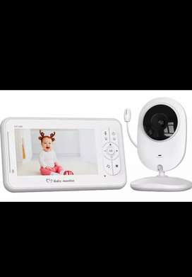 COOAU 4.3 inch Wireless Video Baby Monitor with Camera