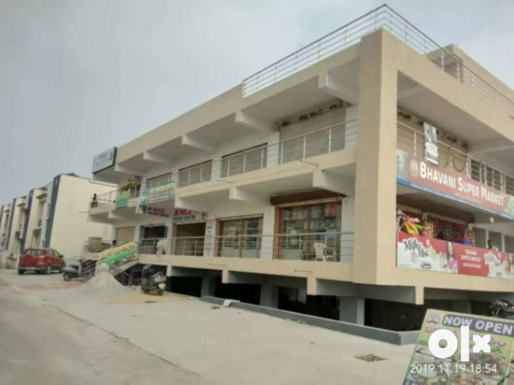 commercial shop for sale in gated community project.