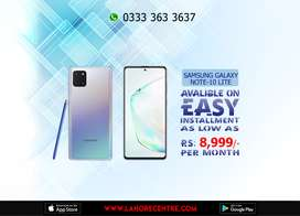 Samsung Galaxy Note 10 Lite Available On Installment With 0% Advance.
