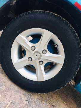 13 new Rim tyre exchange possible with 14 Rim tyre in good condition