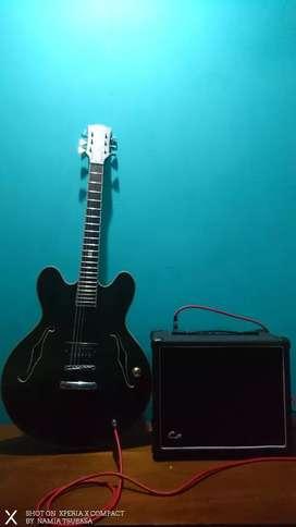 Gitar Listrik Gibson & Ampli Carter CG-25