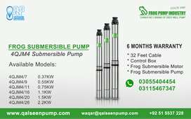 Best Submersible Motor Pump, 0.75 KW Single Phase, 220 VAC, 6 Months