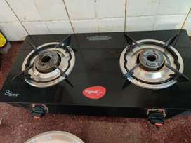 Gas stove used less than a year,moving out sale