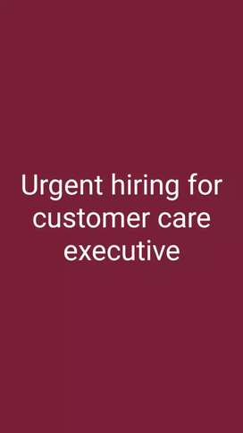 Urgent hiring for BPO , telecaller , customer care executive