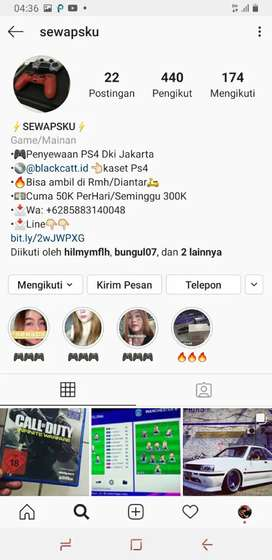 PENYEWAAN PS4 TERMURAH DI DKI JAKARTA
