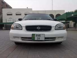 Suzuki Baleno 2005,used by doctor(myself),factory fitted CNG, Chill AC