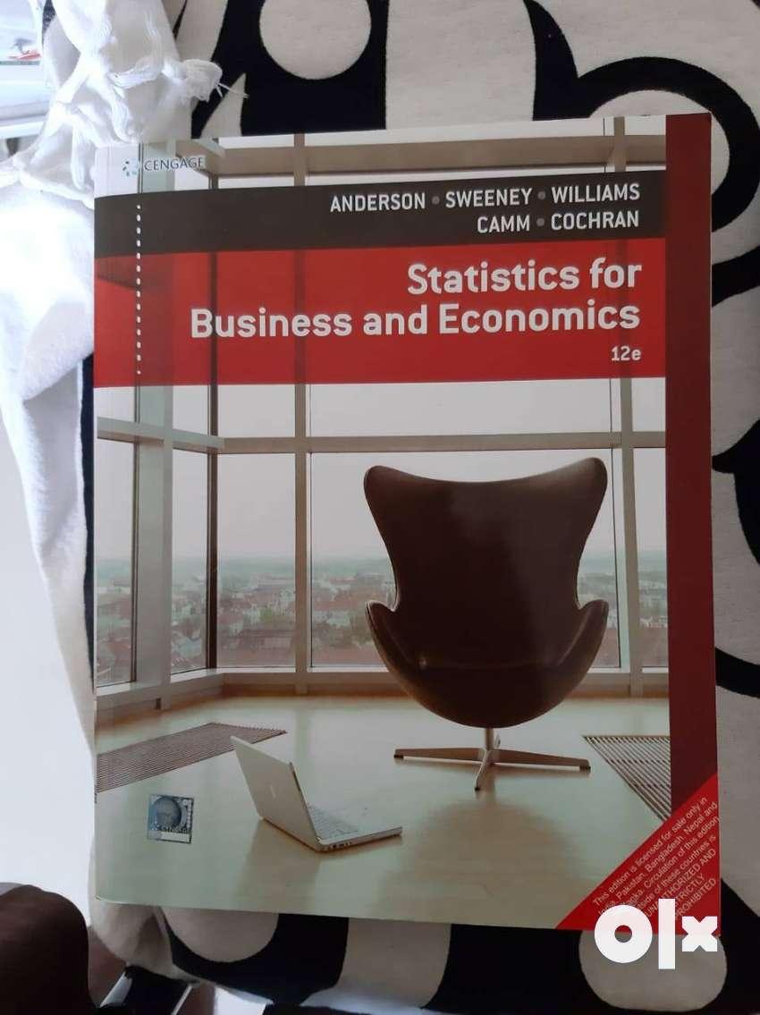 Statistics for Business and Economics 0