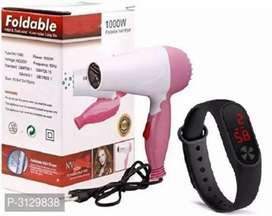 Diwali offer hair dryer and watch combo deal