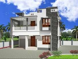 Villa for Sale @ Chanthavila, Thiruvananthapuram