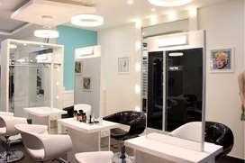 SALE - Luxury Beauty Salon of 515 sft. in prime location Kalyannagar,