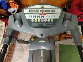 Fitness world , 1200 with all offences Tread mill