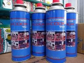 PROMO-GAS PORTABLE/GAS KALENG GAS STOVE HI COOK 230GR-ORIGINAL LOHH