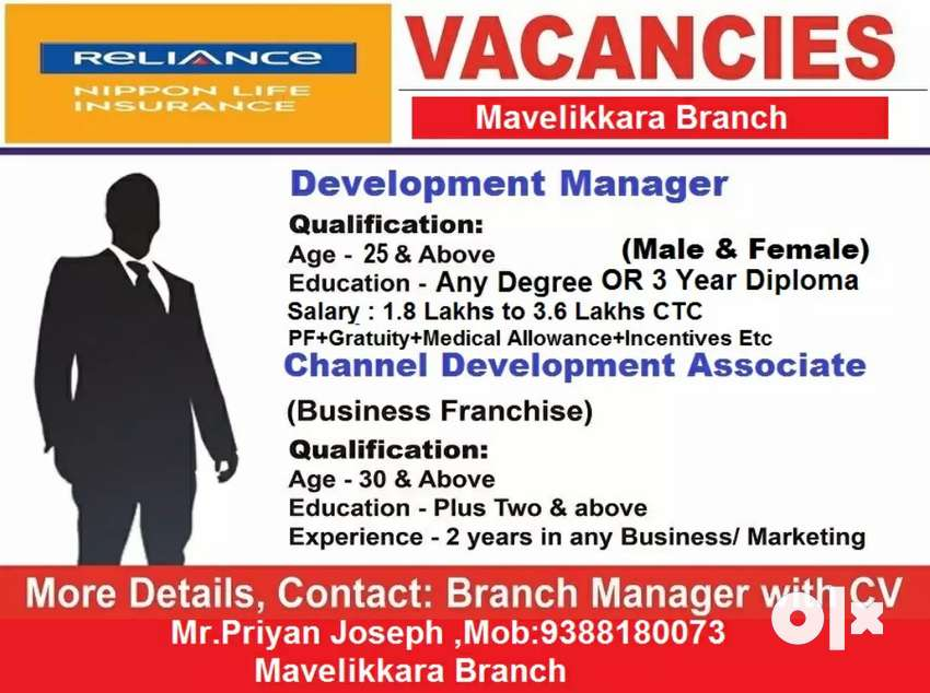 URGENT VACANCY @ KAYAMKULAM 0