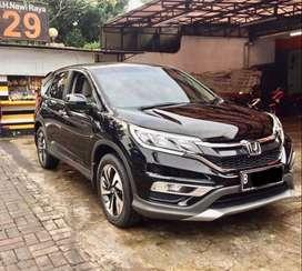 LOW KM ANTIK Honda CRV 2.4 AT 2015 Hitam Non prestige TGN 1 dari baru