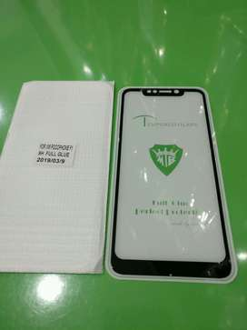 Tempered Glass Pocophone F1 Full Layar 9D