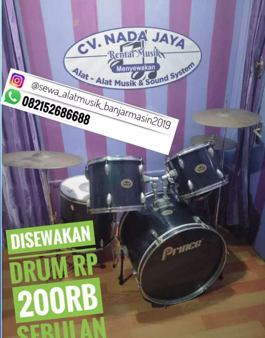 Menyewakan drum sebulan 200k 0