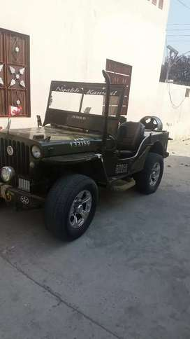Willyz open jeep...fully powerd..with sound system