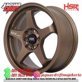 Velg Mobil Avanza Ring 16x7 Hsrwheel Kailolo H8x100-114,3 Et42 Mbrz