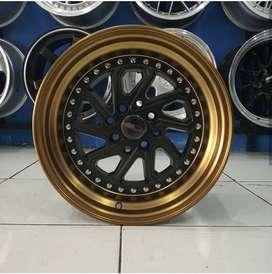 Velg Mobil Avanza, Yaris dll Type DOBO HSR R16 Black Bronze