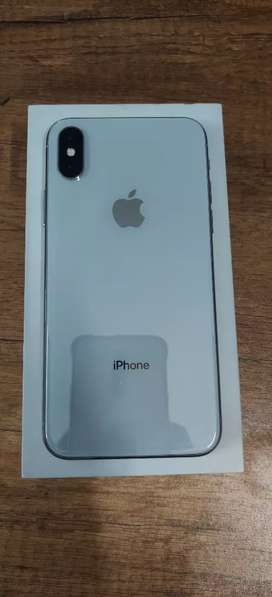 iPhone X 256GB - Silver Colour - 3 Month Warranty With Bill