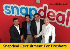 Snapdeal Data Entry jobs