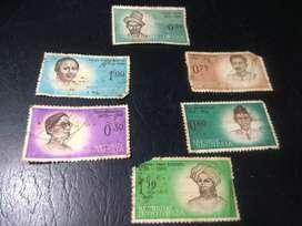 Set perangko seri pahlawan