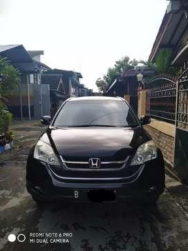Honda CRV 2010 manual hitam