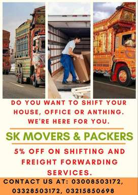 Home Shifting Services Movers & Packers in Islamabad Shahzor Mazda