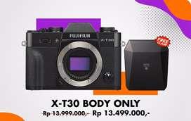 Fujifilm X-T30 body only kredit bunga nol persen