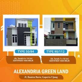 Alexandria Green Land Mewah Jl. Banten Baru, Kp. Lalang, Kec. Sunggal