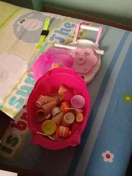 Ice cream parlor set
