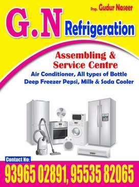 All types of washing machine repair