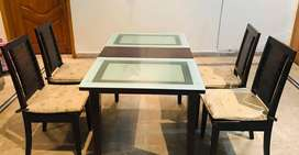 Pure wood dinning table