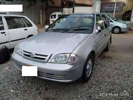 Suzuki Cultus on easy installment pay