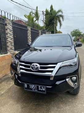 Toyota Fortuner VRZ 2018 Mulus Low odometer