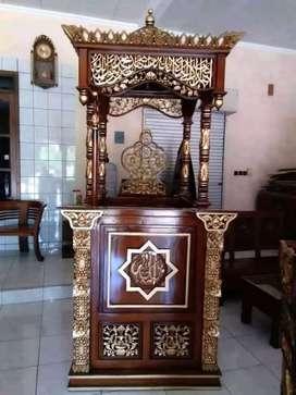 mimbar masjid mushola murah meriah