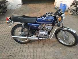 Modify  yamaha  RX 100