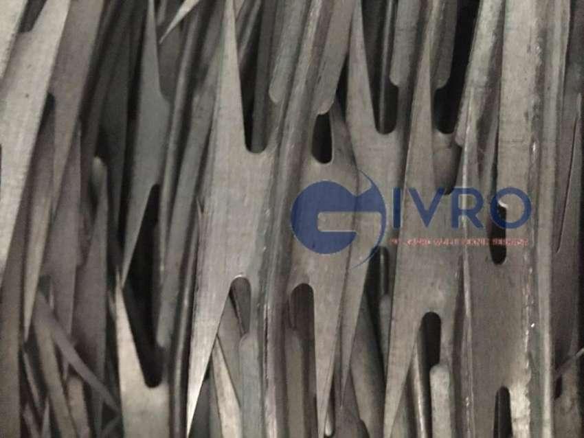 Razor wire (kawat silet) SNI